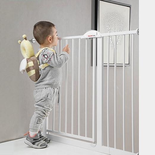 Brisk- Puerta De Seguridad \ Puerta De Seguridad Para Niños \ Barrera De Escaleras Para Bebés \ Valla Para Mascotas \ Valla Para Perros \ Puerta De Aislamiento: Amazon.es: Hogar
