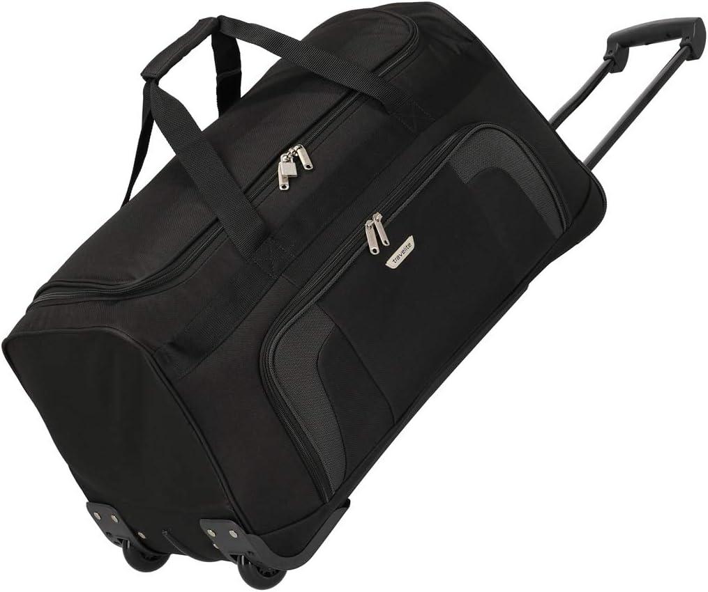 Travelite Bolsa de Viaje, 73 litros, 70 cm, Negro