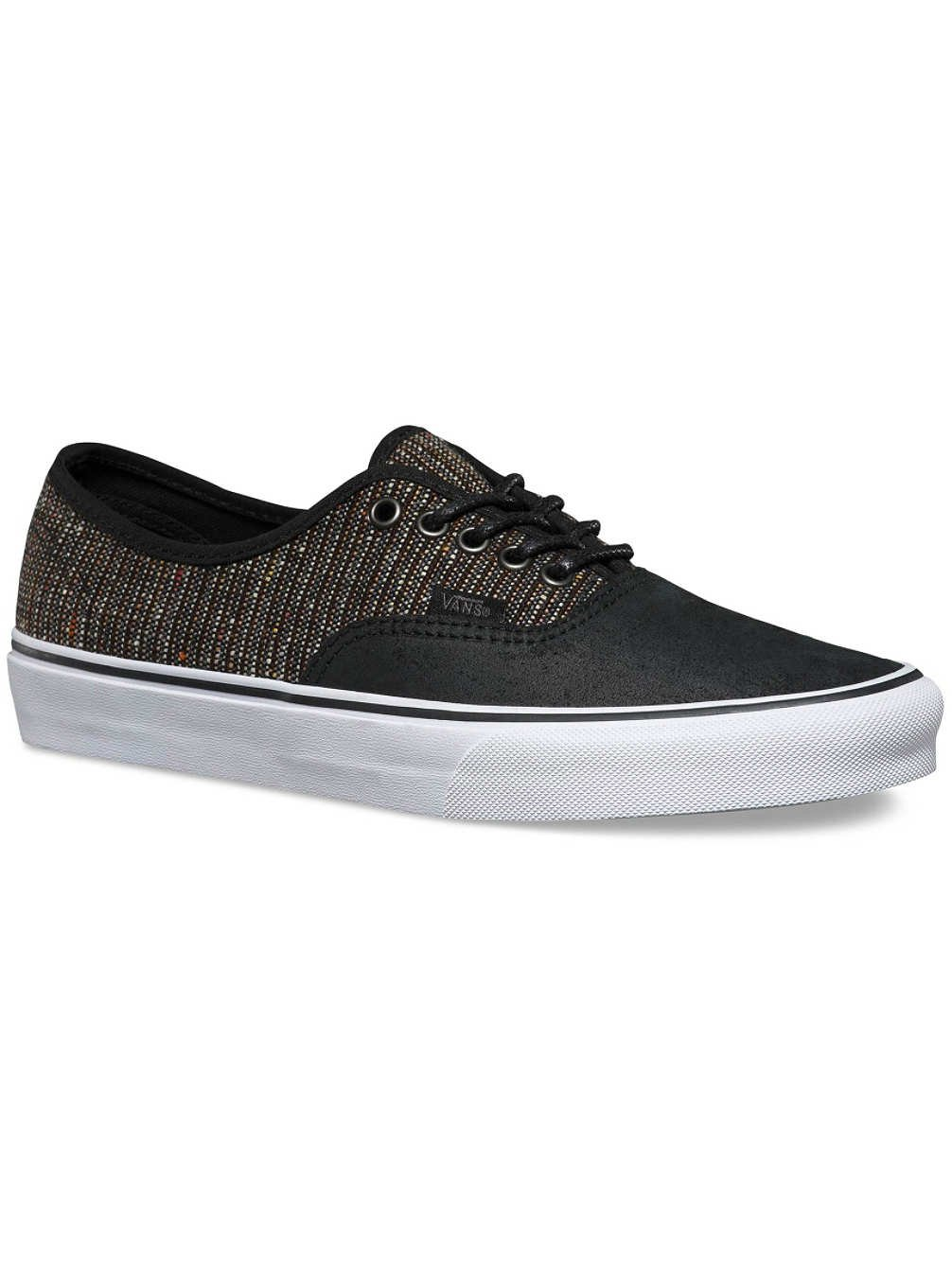 Vans Unisex-Erwachsene Authentic Low-Top  11.5|(2 Tone) Black/Tweed