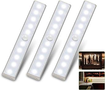 LED Unterbau-Leuchte Lampe Küche Batterie Sensor Licht-Leiste Schrankleuchte DE