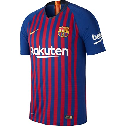 bcb68865caf4 Amazon.com   Nike Barcelona Home Vapor Match Jersey 2018 2019 ...