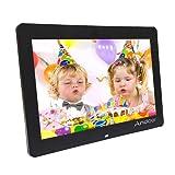 Andoer® 8 Ultrasottile HD TFT-LCD digitale Photo cornice Orologio Sveglia Lettore MP3 MP4 e pellicole con scrivania remoto (1 #)