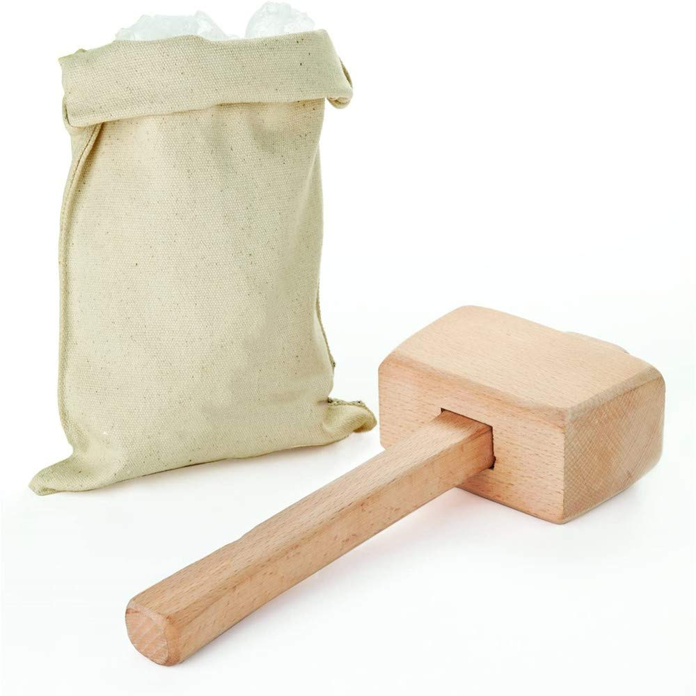 "Lewis Bag and Mallet,Bartender Kit & Bar Tools Kitchen Accessory, 12"", Ice Bag & Mallet"