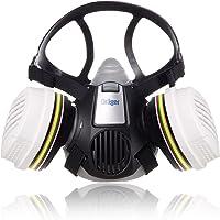 Dräger X-plore® 3300 Chemieset halfgelaatsmasker + 2x ABEK1 Hg P3 R D filters   Gasmasker voor chemische stoffen…