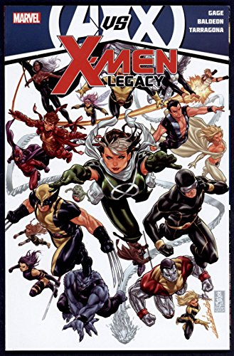 Avengers vs X-Men: X-Men Legacy Trade Paperback TPB Graphic Novel Marvel Comics