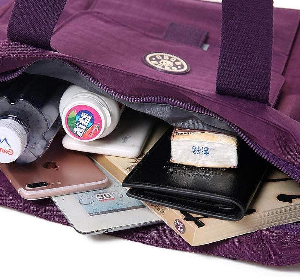 Casual Women Handbag Large Capacity Waterproof Shoulder Bag Fashion Design Wear-Resistant Nylon Big Tote Bags Mother
