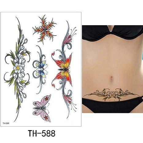 adgkitb Etiqueta engomada del Tatuaje Temporal 3pcs Tatuaje ...