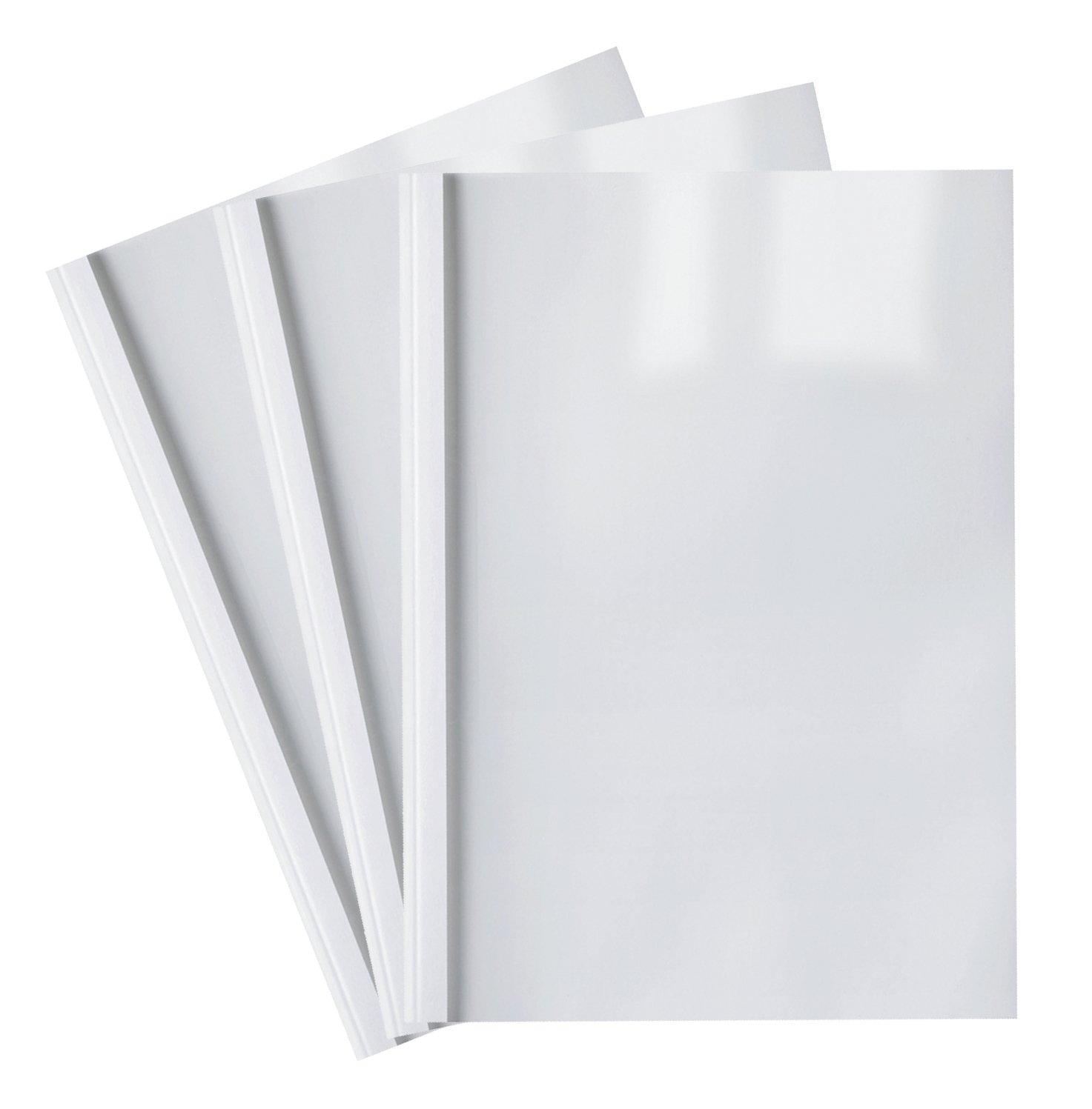 25 Thermobindemappen, weiß, 25.0 mm weiß FALAMBI / BestPreisArtikel