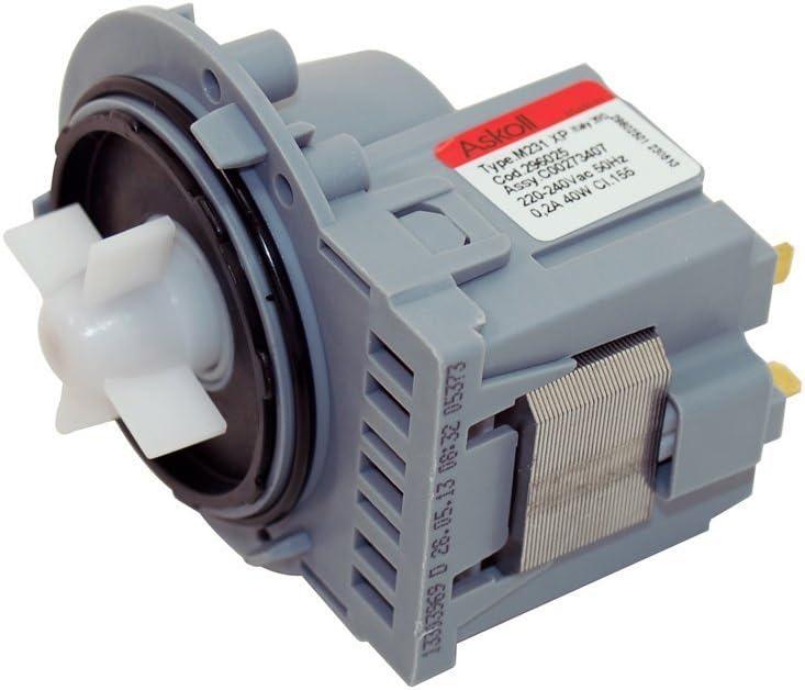 Universal Compatible Washing Machine Drain Pump Askoll M224 XP 50Hz 40w 0.2A