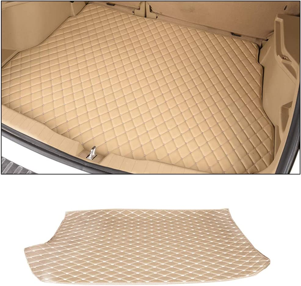 Custom Trunk Cargo Liner Floor Mat for BMW Z4 sDrive23i sDrive35is sDrive20i sDrive28i 2009~2013 Semi Covered All Weather Luggage Protective Waterproof Cargo Mat Non-Slip Leather Lining Set Black