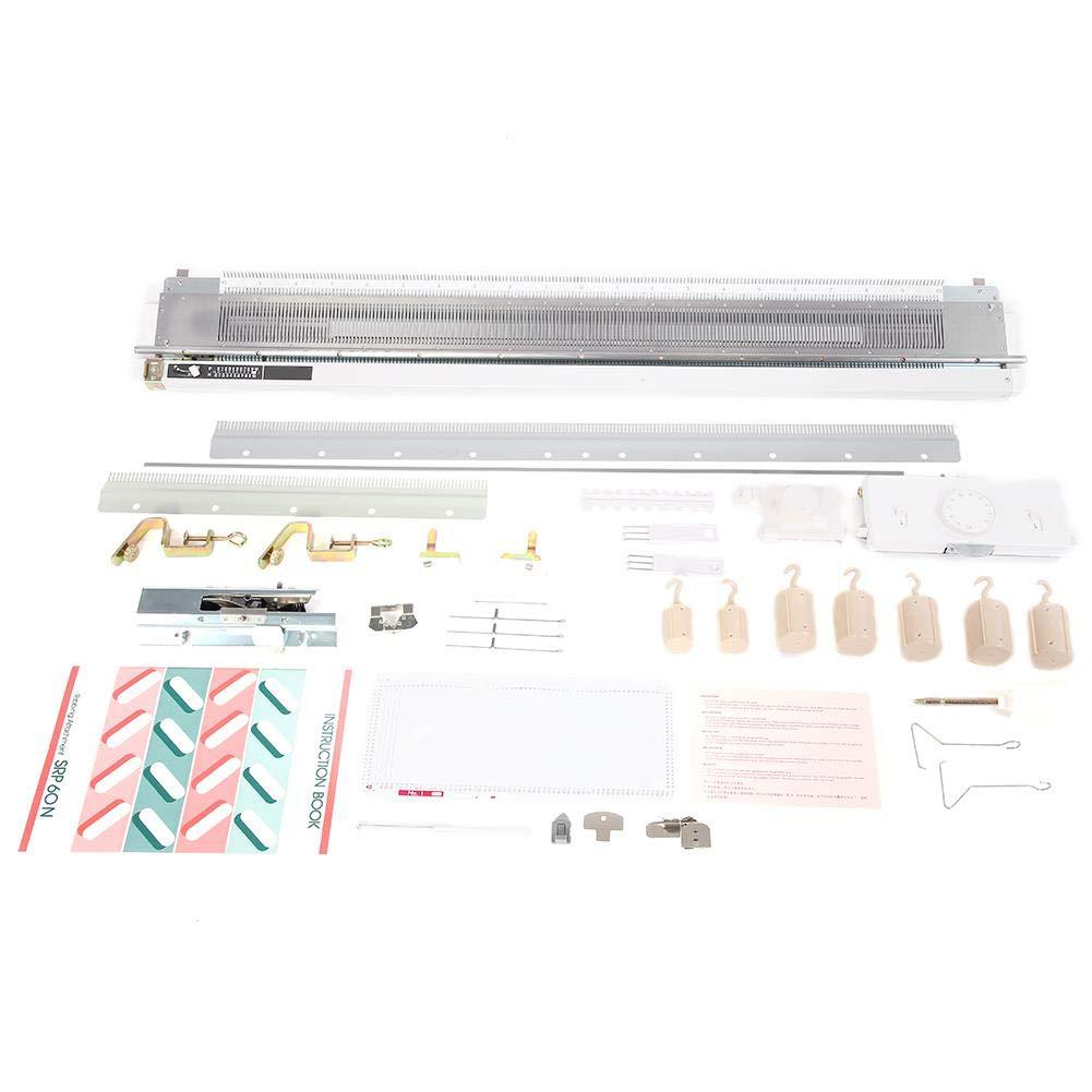 Knitting Machine,Standard Gauge Plastic Domestic Knit Machine for Silver Reed SK280 SK360 SK840 Artisan245