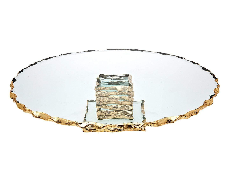 Godinger Silver Art Harper 13'' Cake Plate