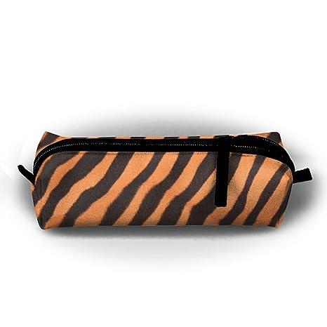 Tiger Texture - Estuche para lápices de estudiantes, con ...