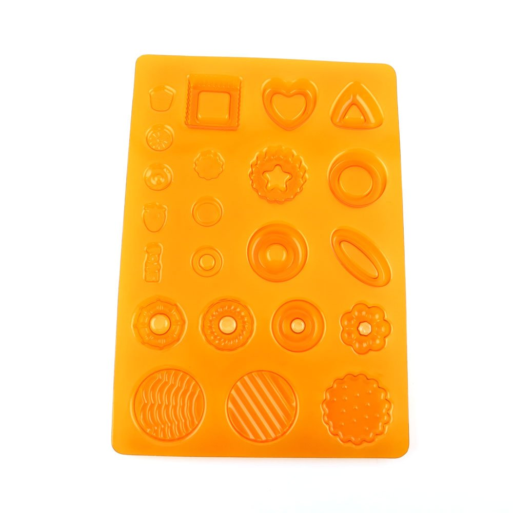 100 PCS Chocolate Molds Baby Shower Candy Making Supplies Jelly Maker Wholesale GI023 Flowers Mixed