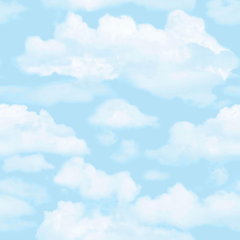 Fresco Papier peint Motif nuages