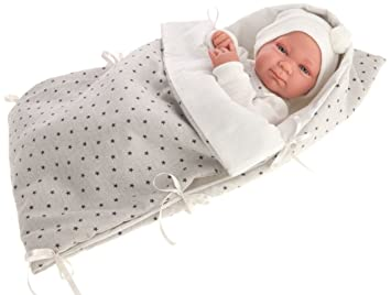 Antonio Juan AJ5003 – Recien Nacido Aceites Saco Niño – Muñeca Realista