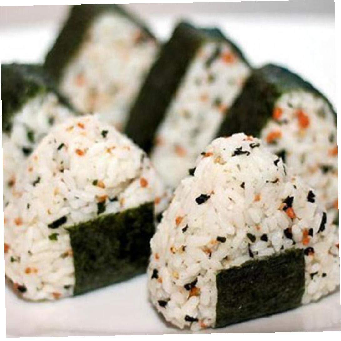ruiting Moldes Moldes Sushi 2pcs Tri/ángulo Onigiri Musubi Arroz Arroz Tri/ángulo Traje de moldes Que Hace Las Herramientas de Bricolaje Bola de arroz de Onigiri Fabricante de Prensas Bento