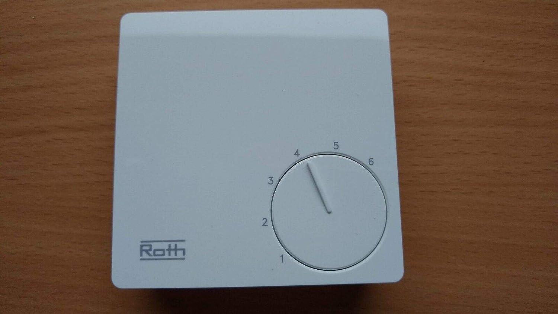Roth Basic Line H 230 V termostato de sala de control de la ...