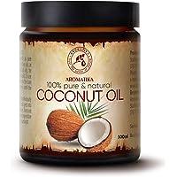 Kokosnötsolja 100ml - Ren & Natural Kallpressad Kokos Basolja - Kocos Nucifera - Oraffinerad Olja för för Eteriska Oljor…