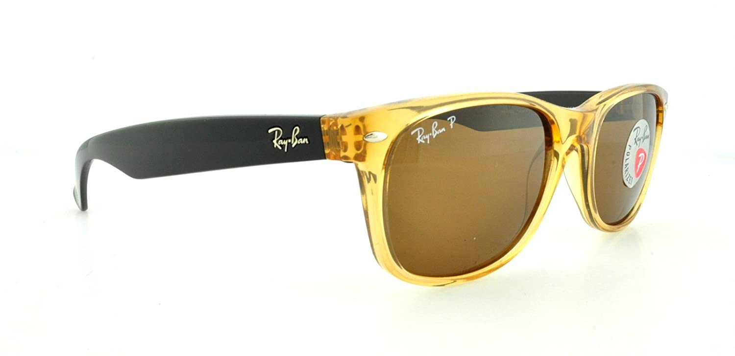 cc4f25fa90 Amazon.com  Ray-Ban RB2132 945 57 Honey Frame   Crystal Brown Polarized  Lens 55mm  Shoes