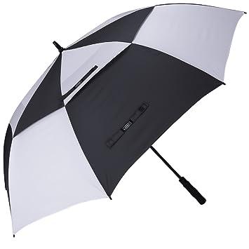 """G4free 68"""" Golf Paraguas Automático Doble Cubiertas Resistencia contra el Viento y la Lluvia Grand"""