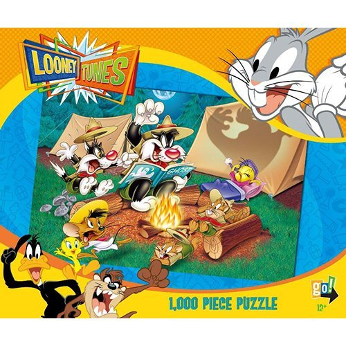 Looney Tunes Camping 1000 Piece Puzzle, Kids Camp Puzzles, Camp Games Kids And Adults Love