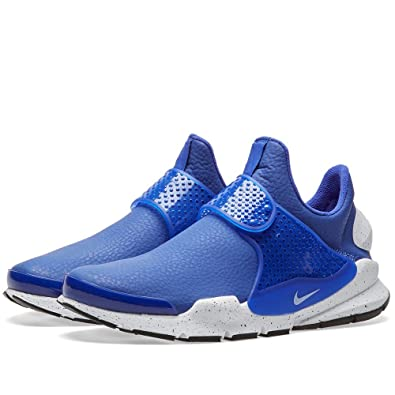 separation shoes 97133 ced43 Amazon.com   Nike Women WMNS Sock Dart PRM (Paramount Blue White-Black)  Size 5.0 US   Road Running