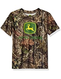 Big Boys' Camo Logo Tee