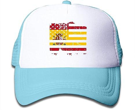 Sdltkhy Bandera de España Americana Apenada en el Sombrero del ...