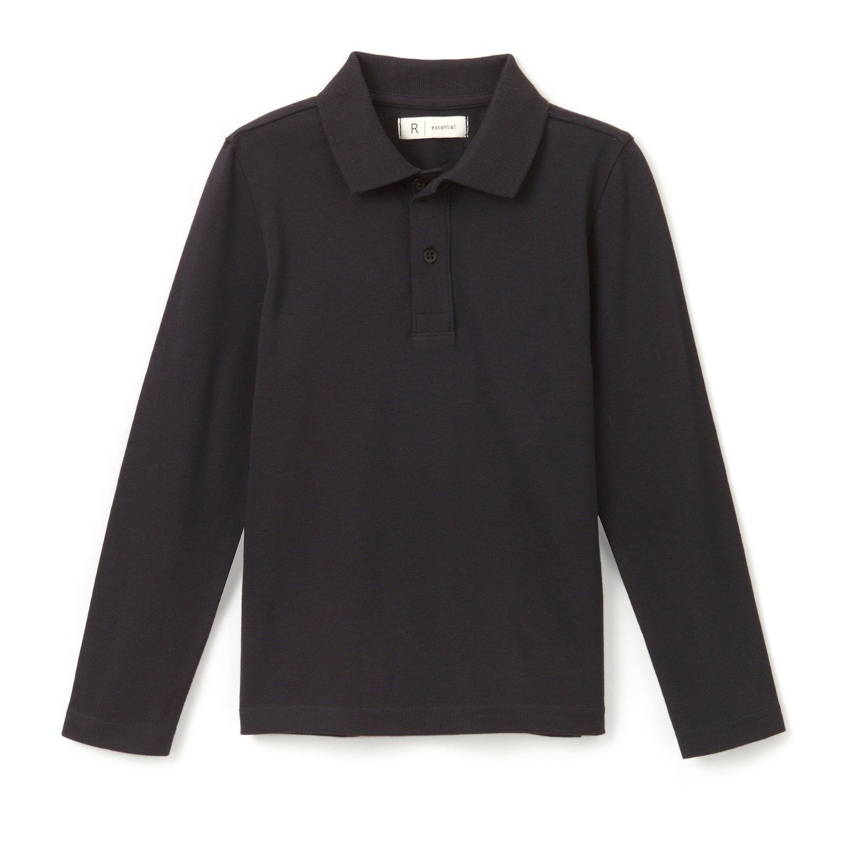 3-12 Years La Redoute Collections Big Boys Long-Sleeved Polo Shirt