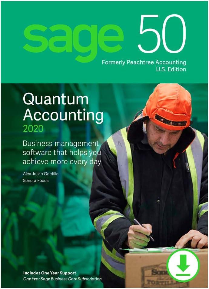 Sage 50 Quantum Accounting 2020 U.S. 1-User [PC Download]