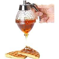 Dispensador de miel de acrílico de 200ml. Botella