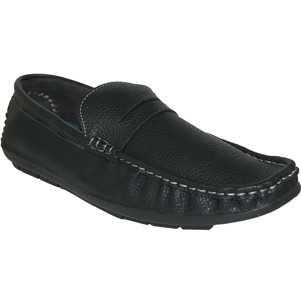 KRAZY SHOE ARTISTS Penny Loafer Men's Slip on Men Shoes -Size 11