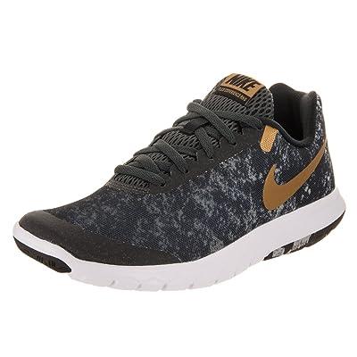 Nike Women's Flex Experience Rn 6 Running Shoes (5.5 B(M) US, Black/Metallic Gold/Anthracite) | Road Running