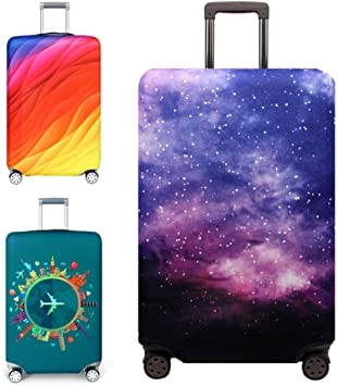 BeesClover Elastic Luggage Protective Cover Suitcase Dust-Proof Anti Scratch Bag Case