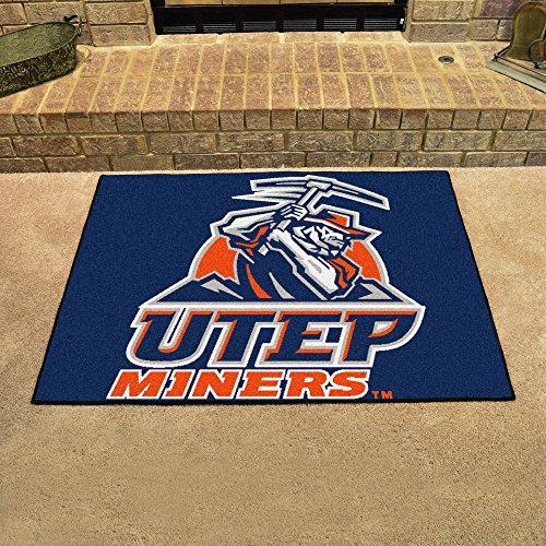 Utep Tailgater Rug (Fanmats Sports Team Logo Design UTEP All-Star Rugs 34