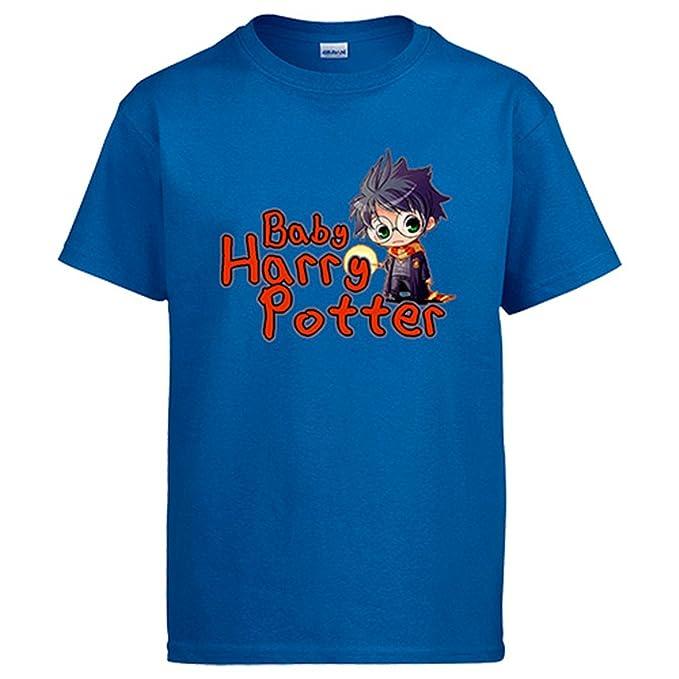 Camiseta Harry Potter Baby Harry Potter - Azul, 12-14 años: Amazon.es: Ropa y accesorios