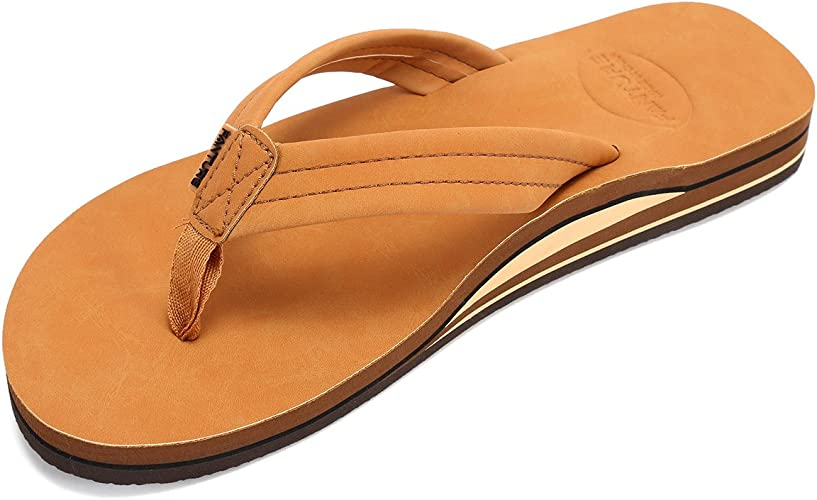 Mens Flip Flop Soft Slide Flat Slipper Rubber Soles Comfy Sandals