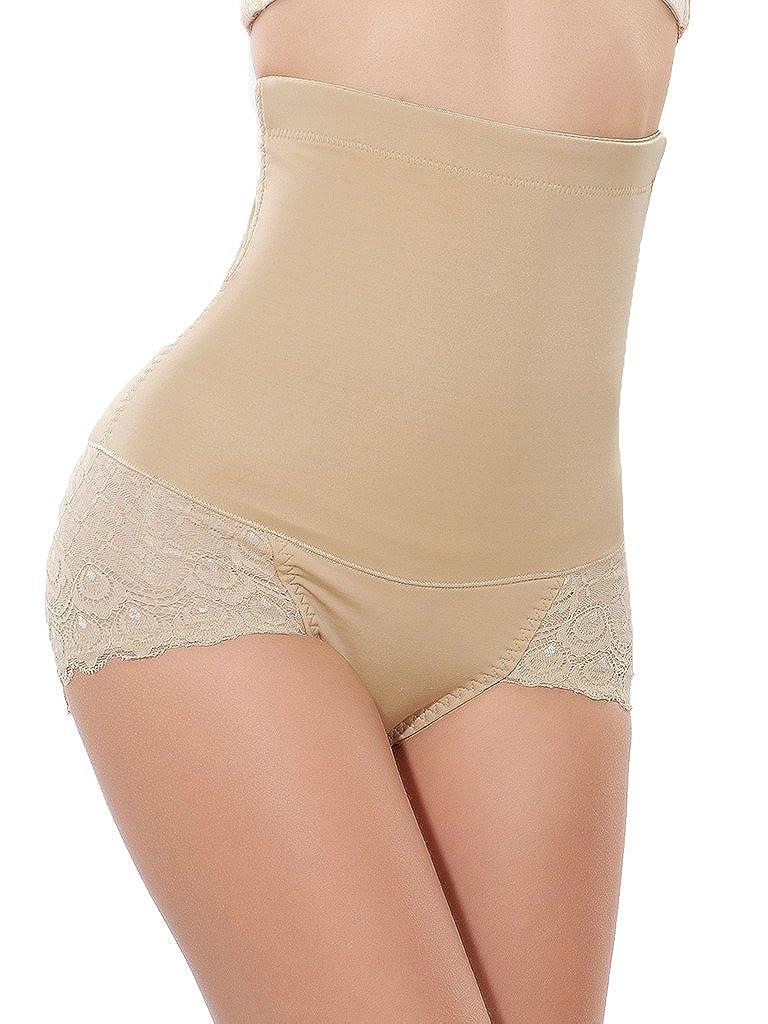 DODOING Damen Butt Lifter Shaper Nahtlos Shapewear Panty Figurenformend Miederslip mit Bauch-Weg-Effekt Miederpants Mieder String Y207-DEAC