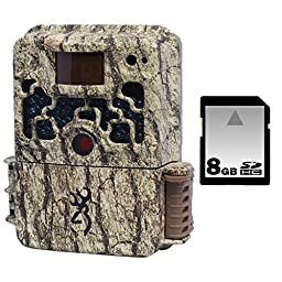 Browning Strike Force Trail Camera with 8GB SD Memory Card