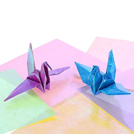 Global Art Materials Folia Origami Paper 4 Inch By 4 Inch Assorted