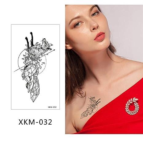adgkitb Etiqueta engomada Temporal del Tatuaje del Brazo pequeño ...