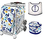 #9: ZUCA Sport Bag - Boho Floral with Gift Lunchbox and Seat Cover (White Frames)