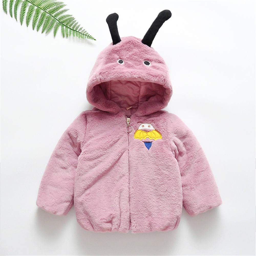 Lurryly❤Baby Girls Boys Kids Hoodies Hooded Winter Warm Coat Jacket Outerwear Clothes 0-3T /✿/✿---------------------------/✿/✿