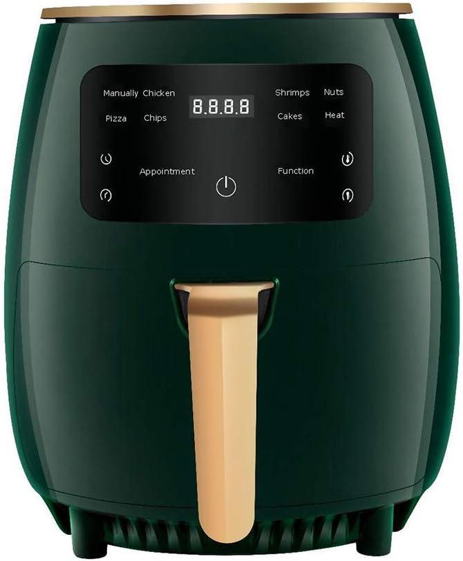 Air Fryer, 1200 watt 4.5 QT Air Fryer Oven for Oil-Less Air Frying Cooking, 8-in-1 Air Fryer with Digital LED Touchscreen