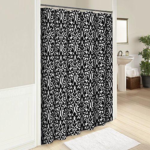 Cotton Hill Curtain (Marble Hill 16250SHWR072MUL Hadley 72-Inch by 72-Inch Shower Curtain, Multi)