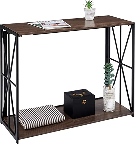 Details about  /Console Entryway Sofa Table Industrial Tables for Hallway Entrance Entry Way
