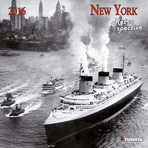 New York Retrospective 2016: Kalender 2016 (Media Illustration)