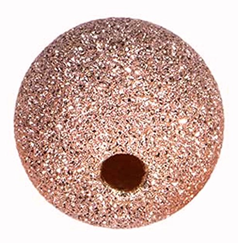 14k Rose Gold-Filled Stardust 10.0mm Beads 2.0mm Hole (10 Mm Stardust Beads)