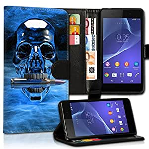 Wallet Wicostar–Funda Case Funda Carcasa diseño Funda para Samsung Galaxy S2Plus I9105–Diseño Flip mvd295